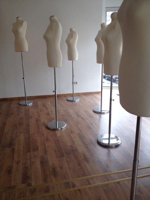 A view from the Drapage Room at Mode Design College