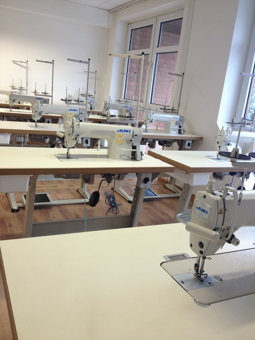 The new Juki Sewing Machines at Mode Design College