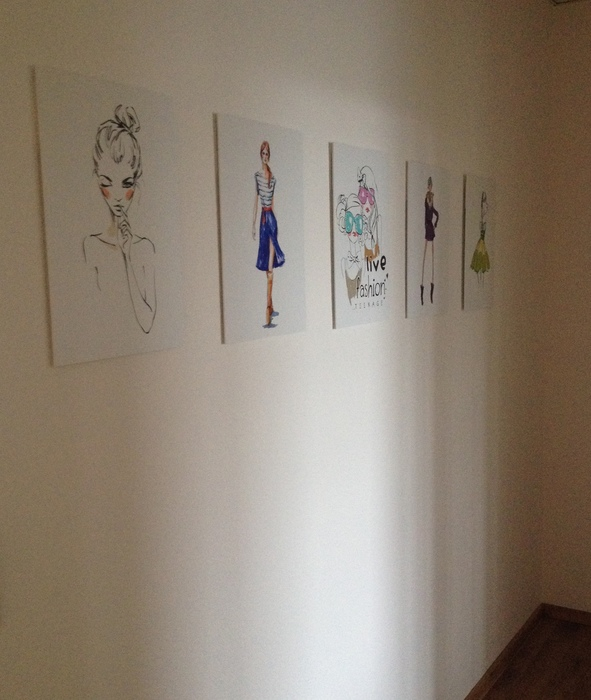 Hallway at Mode Design College